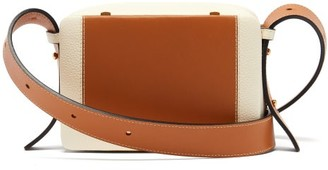 Lutz Morris Maya Grained-leather Cross-body Bag - Tan Multi