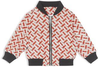 Burberry Kids TB Monogram Bomber Jacket (6-24 Months)
