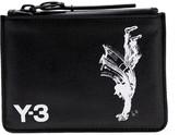 Y-3 + adidas Originals Yohji printed leather wallet