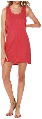 Americana bobi Los Angeles Tank Dress in Slubbed Jersey Women's Dress