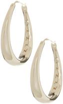 Nadri Flat Hoop Earrings