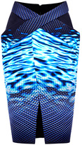 Dion Lee Preorder Oil And Water Draped Skirt