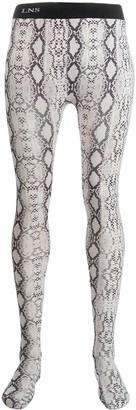 Laneus Python Print Leggings