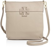 Tory Burch Stacked-T Mixed Material Swingpack Crossbody