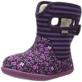 Bogs Baby Flower Stripe Boot (Toddler)