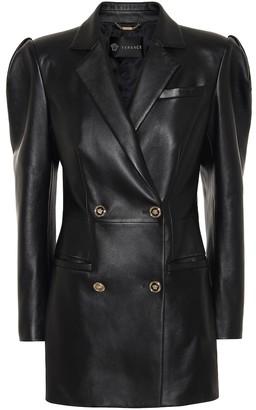 Versace Leather minidress