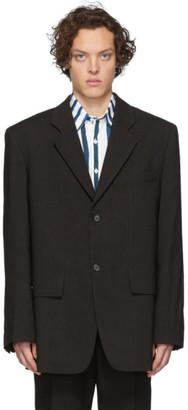 Jacquemus Black La Veste De Costume Blazer