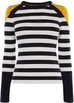 Karen Millen Stripe Knit Jumper