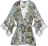 Samantha Chang French Leavers Lace Yukata Robe