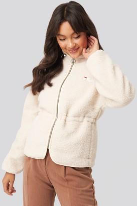 Fila Hajar Sherpa Fleece Jacket White