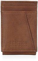 Kenneth Cole Reaction Men's Rfid Blocking Kevin Slim Front Pocket Wallet