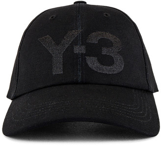 Yohji Yamamoto Y-3 Classic Logo Cap in Black | FWRD