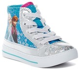 Josmo Frozen Glittery Hi-Top Sneaker (Toddler & Little Kid)
