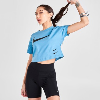 Nike Women's Sportswear Swoosh Crop T-Shirt