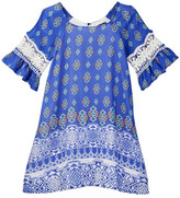 My Michelle mymichelle Peasant Dress (Big Girls)