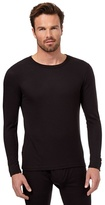 Maine New England Black Long Sleeved Thermal Top