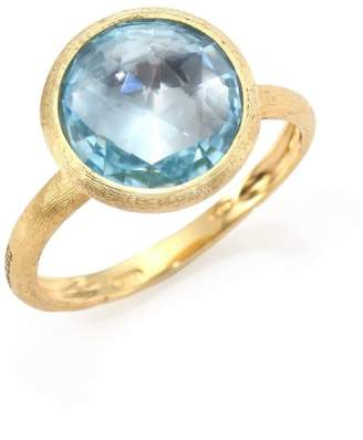 Marco Bicego Jaipur 18k Gold & Topaz Cocktail Ring