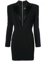 Balmain Tuxedo mini dress