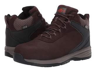 Merrell Work Windoc Mid Leather Waterproof Steel Toe (Brown) Men's Boots