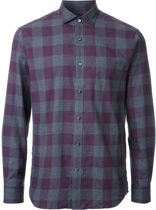Kent & Curwen Gingham Check Shirt