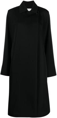 Jil Sander Double-Breasted Wool Coat