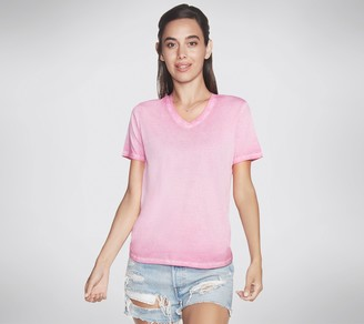 Skechers Apparel Hatha V-Neck Short-Sleeve T-Shirt