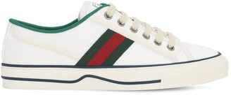 Gucci 10mm Tennis 1977 Cotton Sneakers