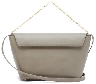 Tsatsas Olive Leather Bucket Bag - Grey