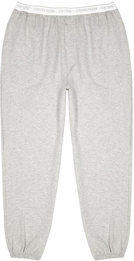 Calvin Klein One grey stretch-jersey sweatpants