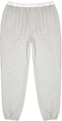Calvin Klein One grey stretch-jersey sweatpants