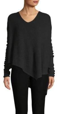 Derek Lam Rib-Knit Asymmetrical Sweater