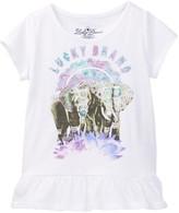 Lucky Brand Photoreal Elephant Tee (Little Girls)