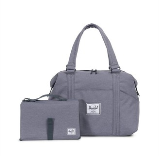 Herschel Strand Sprout Diaper Bag Grey Crosshatch