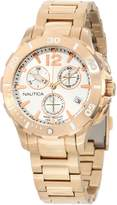 Nautica Women's Bfd 101 N24530M Rose Stainless-Steel Quartz Watch