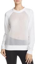 Alo Yoga Elemental Mesh-Body Sweatshirt