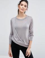 Vero Moda Drape Front Sweater