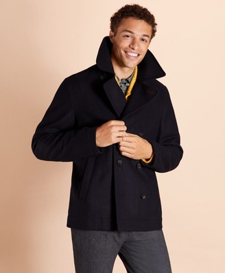 Brooks Brothers Wool Peacoat