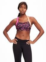 Old Navy Go-Dry High Support Cross-Back Sports Bra for Women