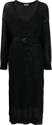 Brunello Cucinelli Sequin Midi Dress