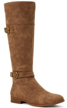 Style&Co. Style & Co Kezlin Riding Boots, Created for Macy's Women's Shoes