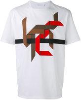 Neil Barrett graphic-design T-shirt - men - Cotton - XS