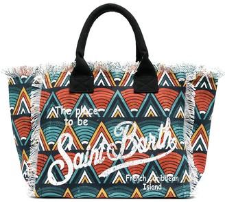 MC2 Saint Barth African print beach bag