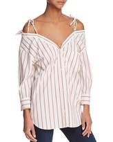 Joie Alvina Cold-Shoulder Shirt