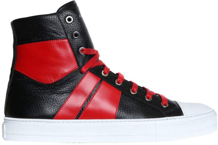 Amiri Sunset Leather High-top Sneakers