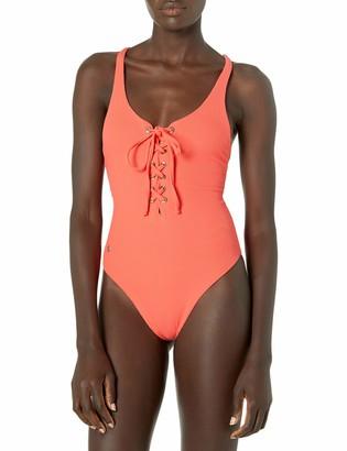 Maaji Women's Heavenly Lace-up Reversible One Piece Swimsuit