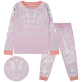 Stella McCartney KidsGirls Lilac Rowbow Pyjama Set