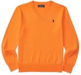 Ralph Lauren Boys' V Neck Pullover - Sizes S-XL