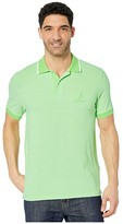 Nautica Oxford Polo (Green) Men's Clothing