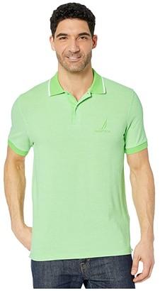 Nautica Oxford Polo (Green) Men's Clothing
