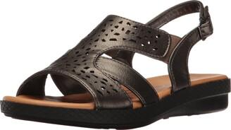 Easy Street Shoes Women's Bolt Flat Sandal